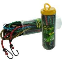Corzi elastice pentru fixare marfa, 2 X 30/ 45/ 60/ 76/ 90CM, set 10 buc