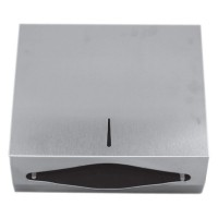 Dispenser inox oglinda, pentru prosoape hartie pliata Z&V, cu cheie, (1buc)