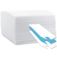 Prosop hartie C 23x33cm, 2 straturi, 100% celuloza, alb (100buc/set)
