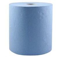 Rola prosop hartie albastra, 2 straturi, 20cmx160m, 100% celuloza (1rola)