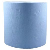 Rola prosop hartie albastra, 2 straturi, 26cmx296m, 100% celuloza (1rola)