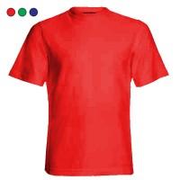 Tricou la baza gatului 155gr, bumbac 100%, colorate: rosu, verde, albastru, marimi XS, S, M, L, XL (1 buc)