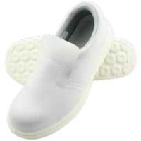 Pantofi de protectie S1, bombeu metalic, talpa antiderapanta, fara sireturi, albi, CE mark, marimi 35-47 (1 pereche)