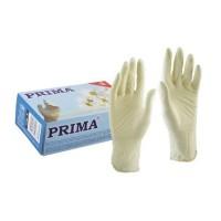 Manusi latex usor pudrate - alb, XS,S,M,L (100buc)