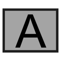 Placa fixa - Transport Deseuri - din aluminiu - 400x300mm