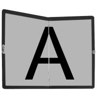 Placa pliabila - Transport Deseuri - din aluminiu - 400x300mm