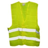 Vesta semnalizare reflectorizanta, galben fluorescent (1buc)