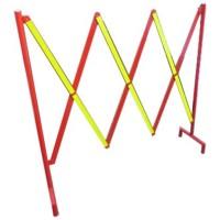 Gard metalic rabatabil mobil, liniar, reflectorizant