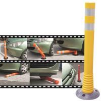Stalp flexibil pentru delimitarea culoare sau sensuri de circulatie